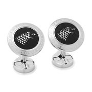Game of Thrones Stark Filigree Stainless Steel Cufflinks
