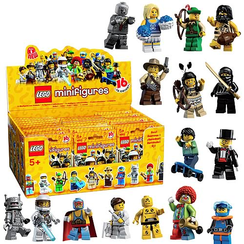 LEGO Minifigures Series 1 10-Pack