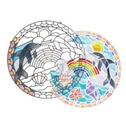 Melissa & Doug Stained Glass Made Easy Dolphins