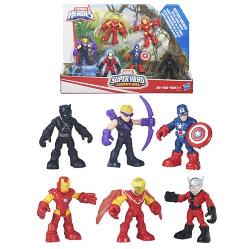Captain America Marvel Super Hero Adventures Figure Gift Set
