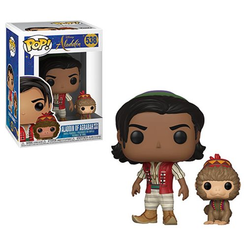 Aladdin Live Action Aladdin with Abu Pop! Vinyl Figure