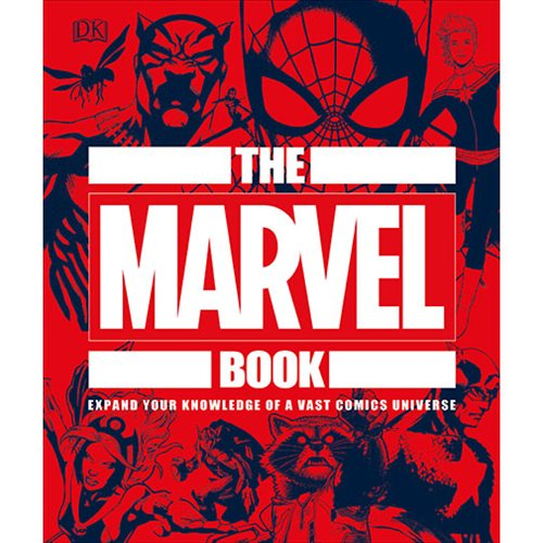 The Marvel Book: Expand Your Knowledge Of A Vast Comics Universe Hardcover Book