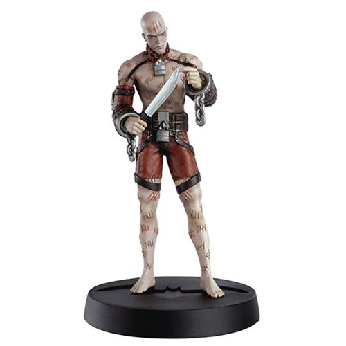 Batman: Arkham Asylum Zsasz Figure with Collector Magazine #6