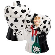 101 Dalmatians Cruella De Vil Sculpted Ceramic Cookie Jar
