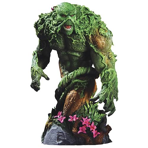 Heroes of the DC Universe Series 2 Swamp Thing Bust