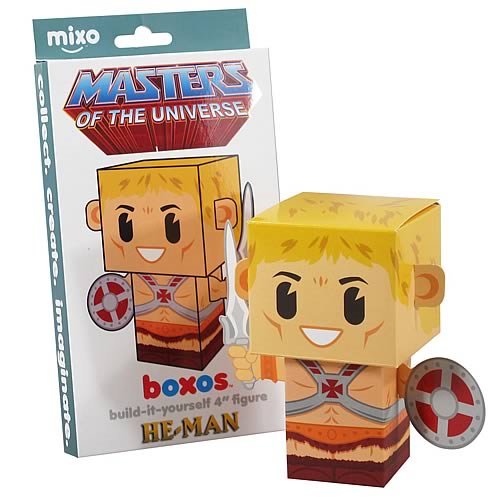 Masters of the Universe He-Man Boxo Papercraft