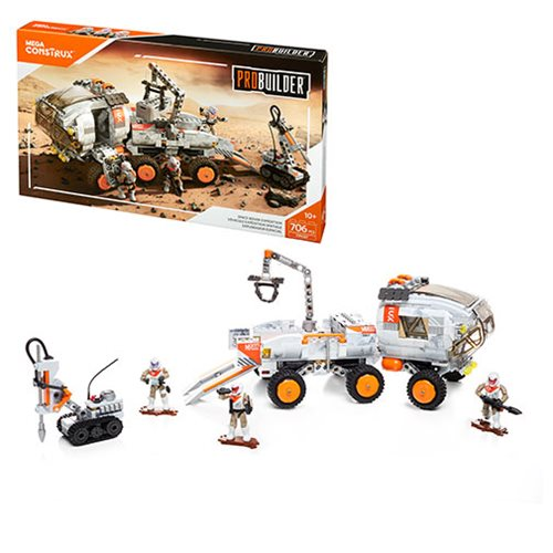 Mega Construx Probuilder Space Rover Expedition Playset