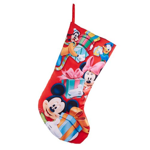 Mickey Mouse and Friends 19-Inch Printed Stocking