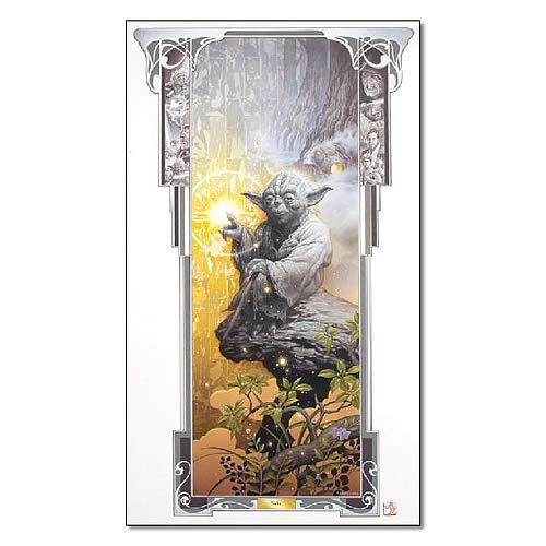 Star Wars Yoda Limited Edition Paper Giclee Print