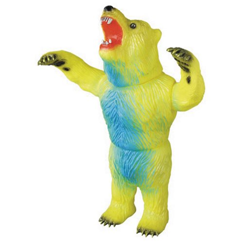 Rampaging Bear Yellow Version Sofubi Vinyl Figure