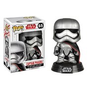 Star Wars: The Last Jedi Captain Phasma Pop! Vinyl Bobble Head #65, Not Mint