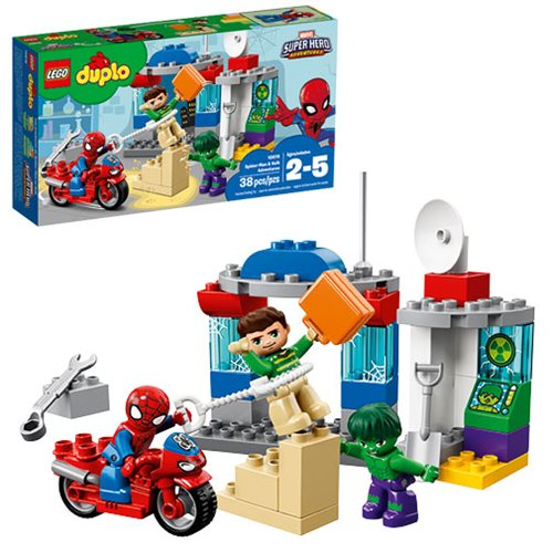 LEGO DUPLO Marvel Avengers Super Heroes 10876 Spider-Man and Hulk Adventures