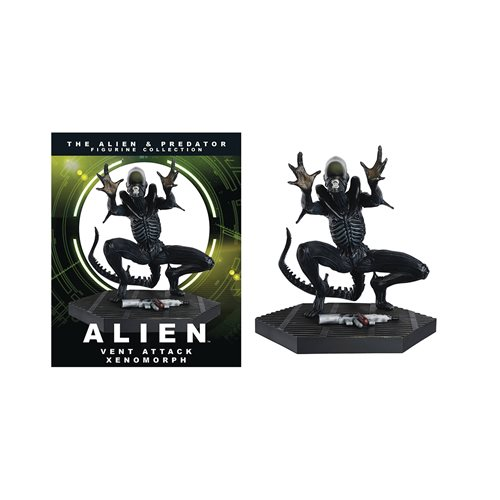 Alien and Predator Collection Xenomorph Vent Attack Mega Figure with Magazine