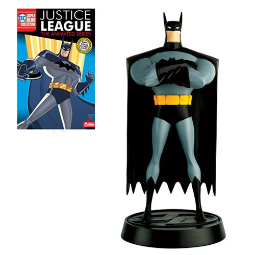 Justice League: The Animated Series Batman Statue with Collector Magazine #5