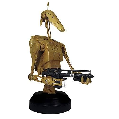 Star Wars Battle Droid Mini Bust