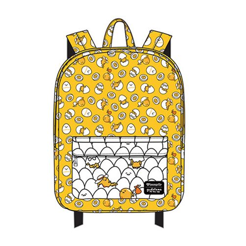 Gudetama Multi Pose Print Nylon Backpack