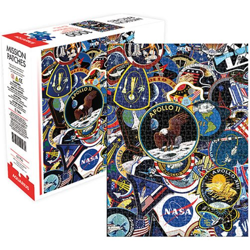 NASA Mission Patches 1,000-Piece Puzzle
