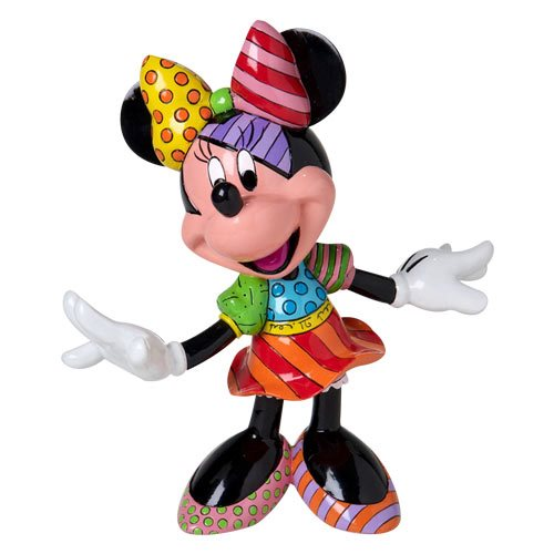 Disney Minnie Mouse 7 3/4-Inch Statue by Romero Britto