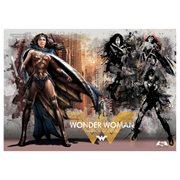Batman v Superman: Dawn of Justice Warrior Goddess MightyPrint Wall Art Print