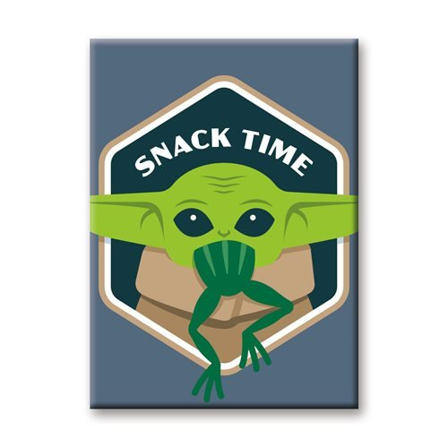 Star Wars: The Mandalorian The Child Snack Time Flat Magnet