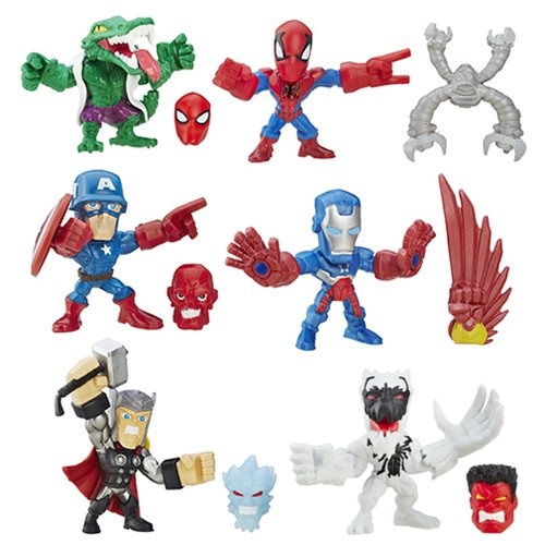 Marvel Super Hero Mashers Micro Action Figures Wave 1