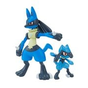 Pokemon Riolu and Lucario Model Kit