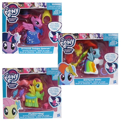 My Little Pony Runway Fashions Figures Wave 1 Case