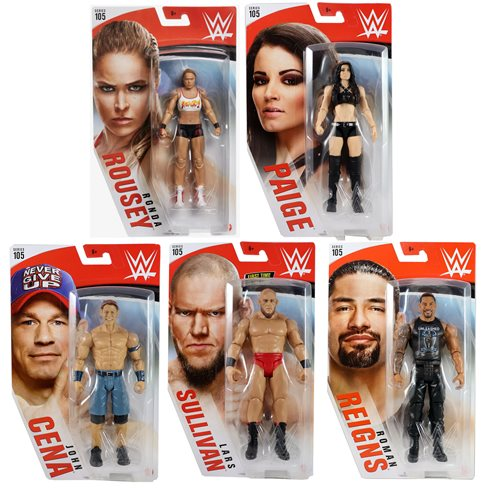 WWE Basic Figure Series 105 Action Figure Case