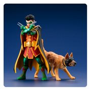 DC Universe Robin and Ace the Bat-Hound ArtFX+ Statue 2-Pack