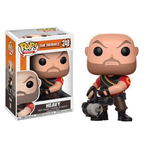 Team Fortress 2 Heavy Pop! Vinyl Figure #248