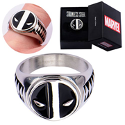 Deadpool Logo Ring