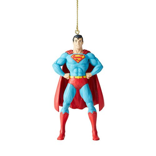DC Comics Superman Silver Age Ornament by Jim Shore
