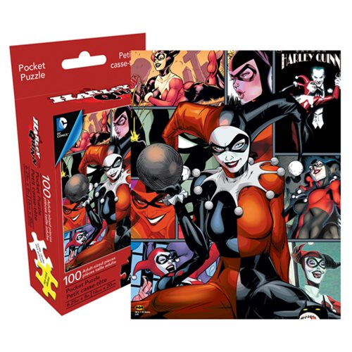 Harley Quinn 100-Piece Pocket Puzzle