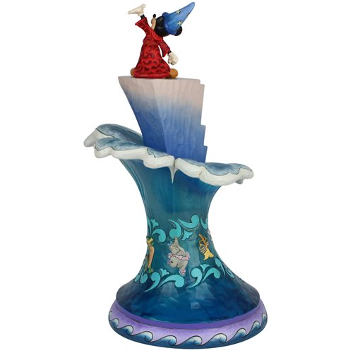 Disney Traditions Sorcerer Mickey Masterpiece Statue by Jim Shore