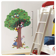 Mickey and Friends Metric Growth Chart Wall Decal
