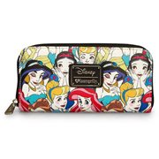 Disney Princesses Classic Print Pebble Wallet