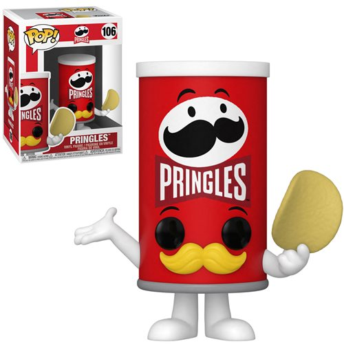 Pringles Can Pop! Vinyl Figure