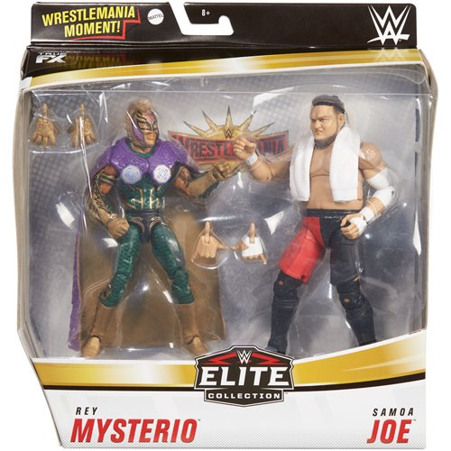 WWE Rey Mysterio and Samoa Joe Elite Collection 2-Pack