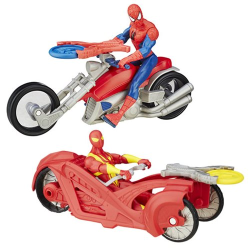 Spider-Man 6-Inch Action Figures with Cycles Wave 2 Case