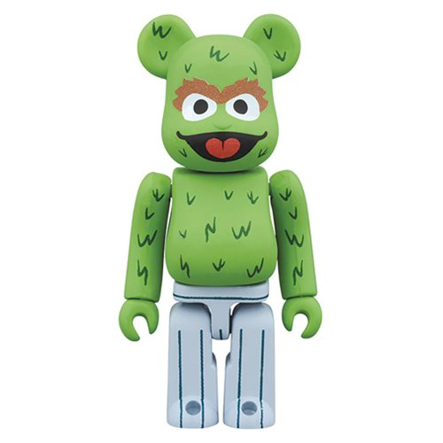 Sesame Street Oscar the Grouch 400% Bearbrick Figure