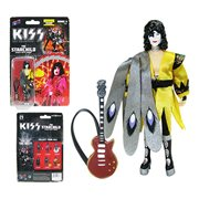 KISS Dynasty The Starchild in Yellow Shirt 3 3/4-Inch Action Figure - Convention Exclusive
