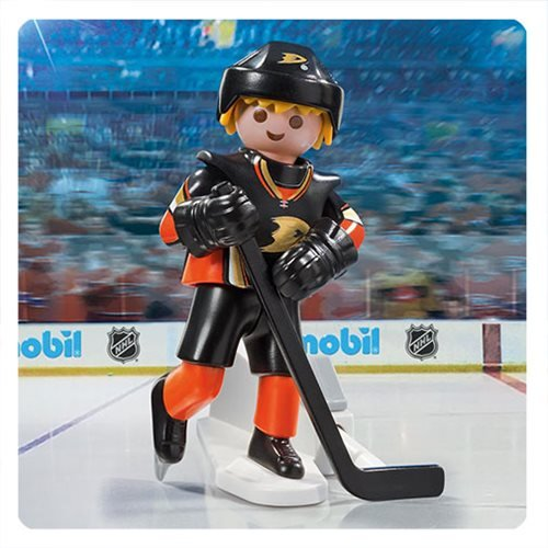 Playmobil 9188 NHL Anaheim Ducks Player Action Figure