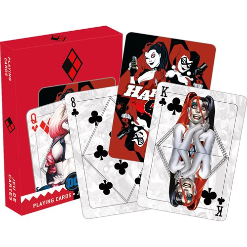 DC Comics Harley Quinn Mirror Playing Cards