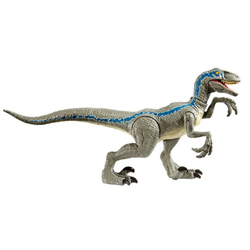 Jurassic World Savage Strike Velociraptor Blue Figure
