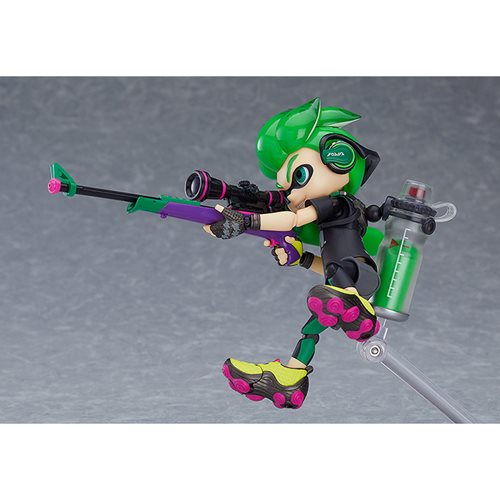 Splatoon Boy DX Edition Figma Action Figure