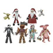 Nightmare Before Christmas Minimates Series 2 Random 6-Pack