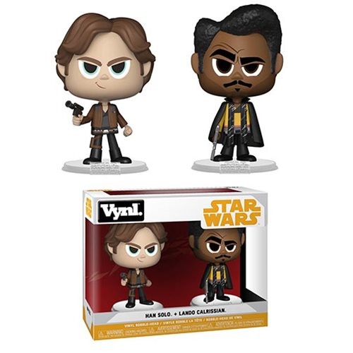 Star Wars Solo Han Solo and Lando Calrissian VYNL Figure 2-Pack
