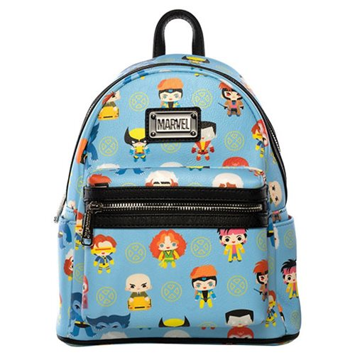 X-Men Chibi Print Mini Backpack