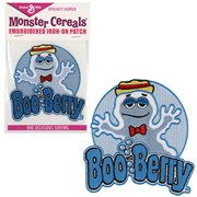 General Mills Boo Berry Embroidered Iron-On Patch