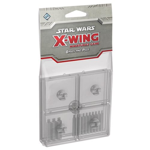 Star Wars: X-Wing Game Clear Bases and Pegs Expansion Pack